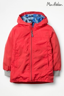 Boden Red Shower Resistant Anorak