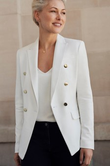 Emma Willis Gold Button Jacket