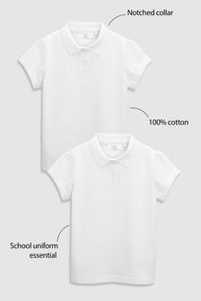 2 Pack Poloshirts (3-16yrs)