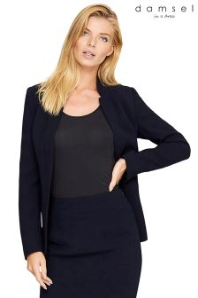 Damsel Navy City Suit Jacket