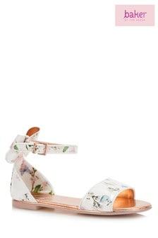 baker by Ted Baker Multi Harmony Print Sandal