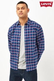 Levi's Navy Checked Shirt