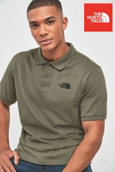 The North Face® Taupe Green Polo