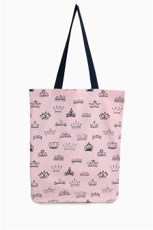 Crown Print Shopper