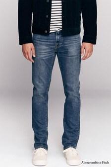 Abercrombie & Fitch Medium Dark Skinny Jeans