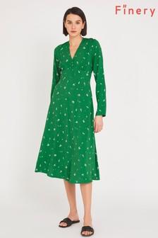Finery Green Lilly Tea Dress