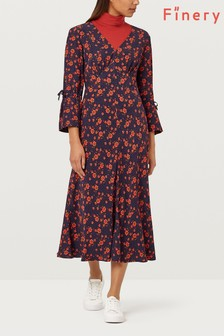 Finery London Romy Printed Tea Dress