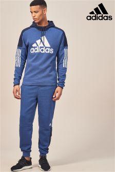 adidas Blue Logo Jogger