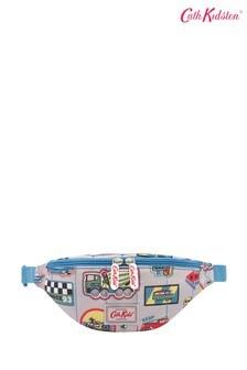 Cath Kidston® Kids White Garage Badges Quilted Bumbag