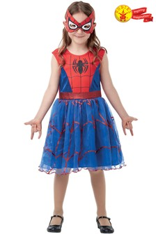 Rubies Spider-Girl Dress Fancy Dress Costume