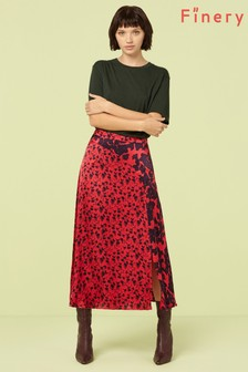 Finery London Multi Adelaide Print Midi Skirt