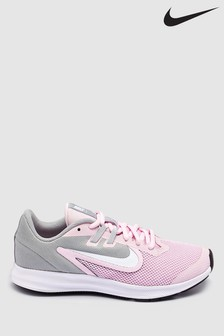 Nike Run Pink Downshifter 9 Youth Trainers