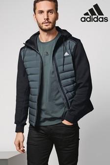 adidas Black Varilite Hybrid Jacket