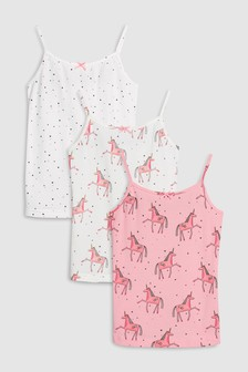 Unicorn Camis Three Pack (3-16yrs)