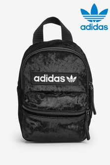 adidas Originals Black Velvet Mini Backpack