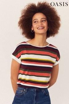 Oasis Natural Crayon Rainbow T-Shirt