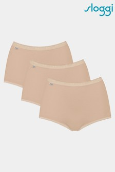 Sloggi Basic+ Maxi Brief Three Pack