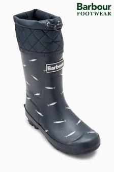 מגפי גומי של Barbour® דגם Fish Corbridge בצבע נייבי