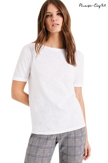Phase Eight White Elspeth T-Shirt