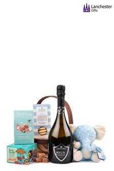 Bouncing Baby Blue Basket by Lanchester Gifts