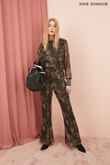 Sofie Schnoor Print Flare Trouser