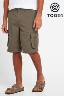 Tog 24 Grey Farrow Mens Cargo Shorts