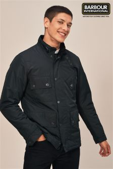 Barbour® International Black Tyne Waterproof Jacket