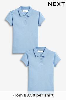 Набор рубашек поло (2 шт.) (3-16 лет)