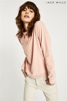 Jack Wills Fromshaw Velour Sweatshirt