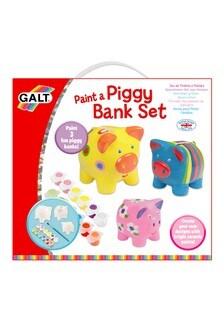 Galt Toys Paint A Piggy Bank Set