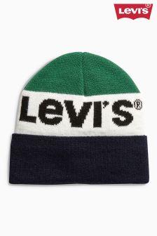 Levi's® Unisex Green Logo Beanie