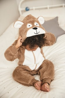 Bear Fleece All-In-One (9mths-8yrs)