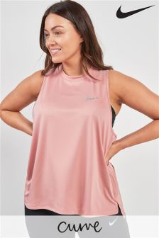 Nike Curve Pink Miler Running Vest