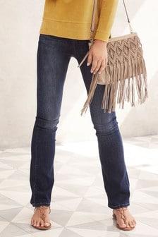 Deluxe Ausgestellte Jeans