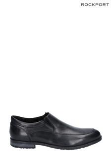 Rockport Black Dustyn Slip-On Shoes