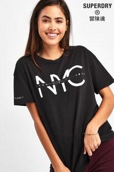 Superdry Black NYC T-Shirt