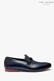 Ted Baker Navy Siblal Loafers