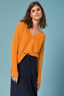 Lofty V-Neck Jumper