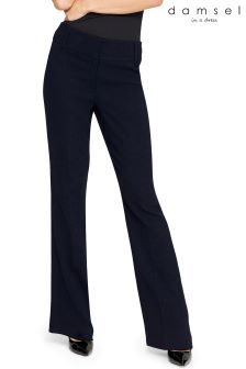 Damsel Navy City Suit Trouser