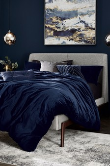 Matte Velvet Duvet Cover And Pillowcase Set