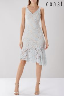 Coast Grey Lachena Lace Shift Dress