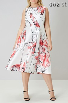 Coast White Hayley Mr Full Midi Dress