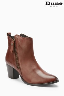 Dune Pontoons Side Zip Ankle Boot