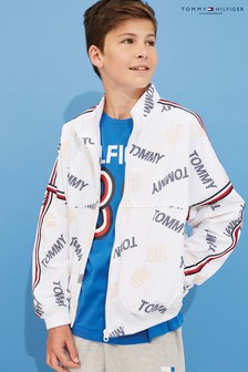 Tommy Hilfiger Boys Hooded Zip Through Jacket