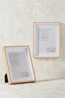 "Set of 2 Gallery 7 x 5"" (18 x 13cm) Frames"