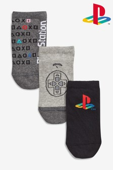 PlayStation™ Trainer Socks Three Pack (Older)