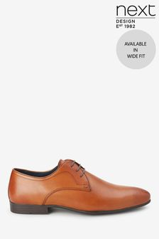 Plain Derby Shoes