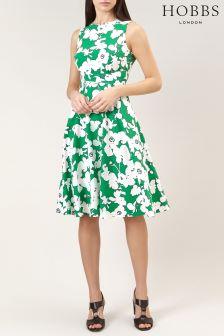 Hobbs Grass Green Evie Dress
