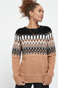 Fairisle Pattern Jumper