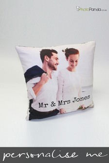 Personalised 18x18'' Double Sided Photo Cushion by Photo Panda